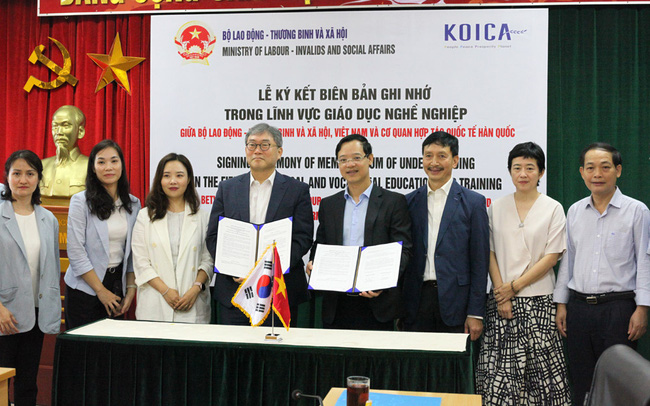 KOICA supports Vietnam in giving vocational training to disadvantaged people