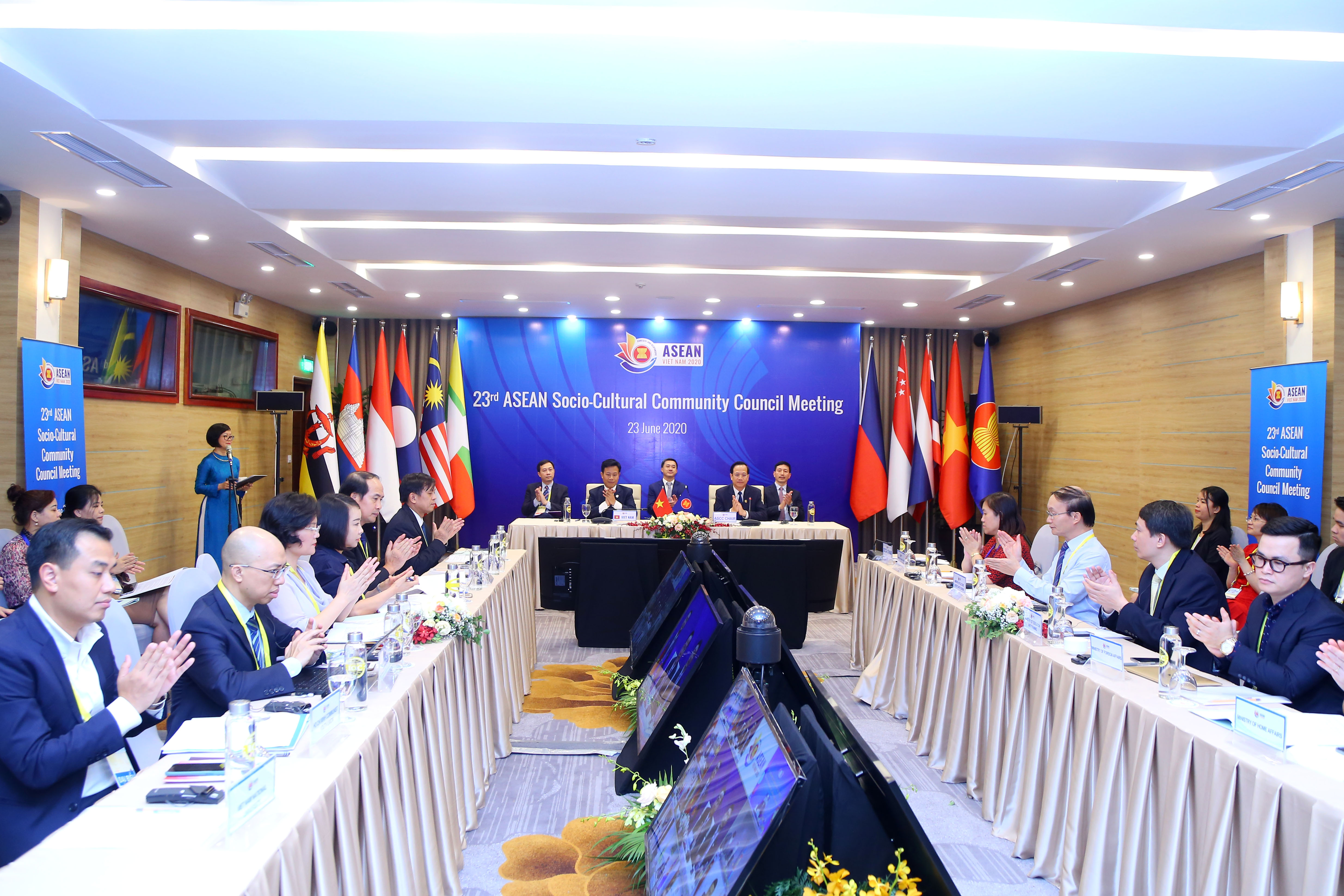 Vietnam organizes successfully the virtual 23rd meeting of the ASEAN Socio-Cultural Community