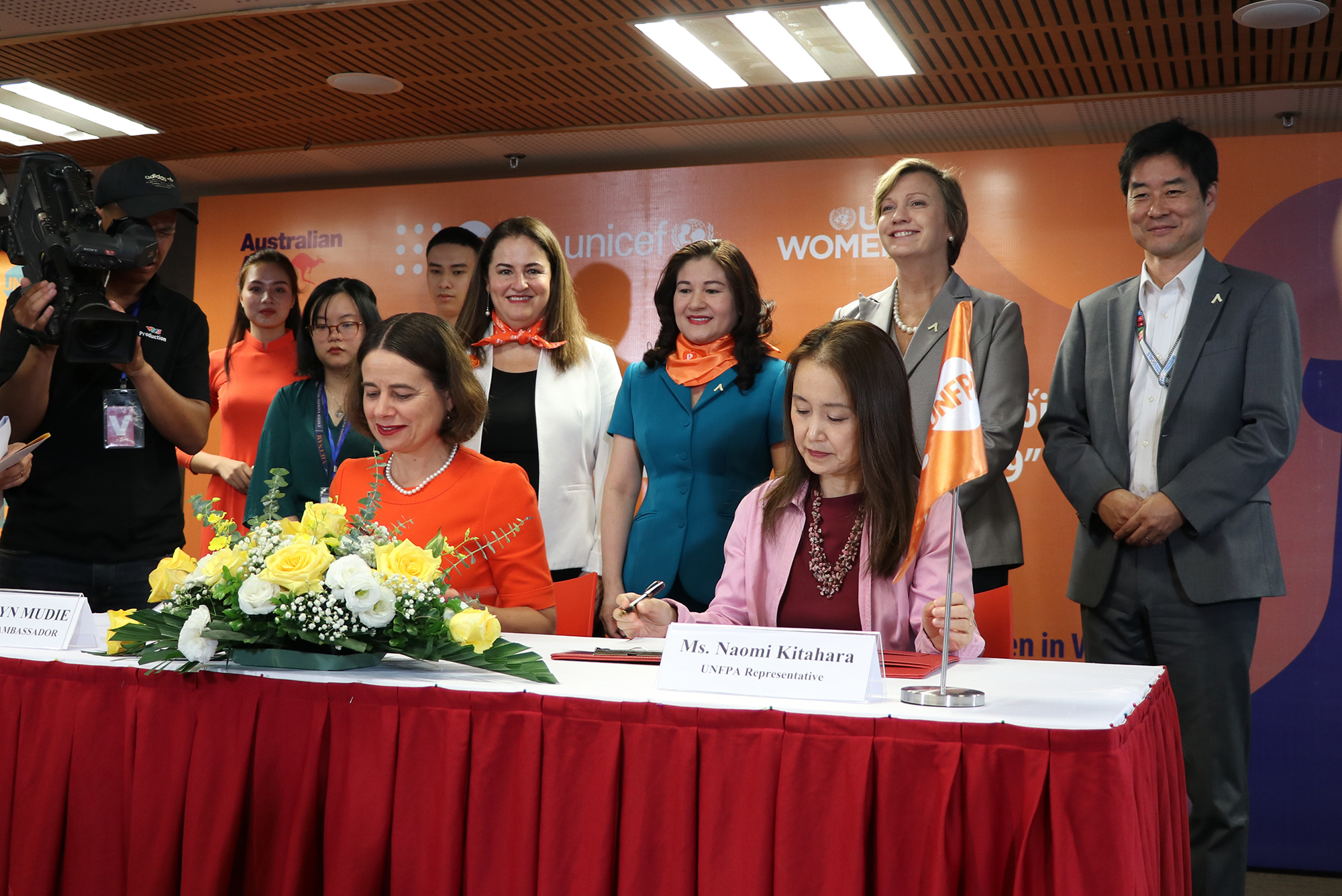International organisations join hands to protect Vietnamese women, children from violence in the context of pandemic Covid-19