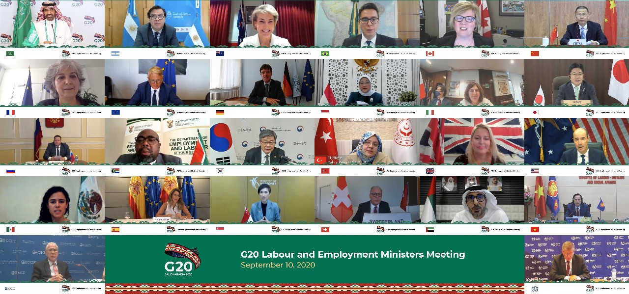 Minister Dao Ngoc Dung attends G20 Labour and Employment Ministers Virtual Meeting